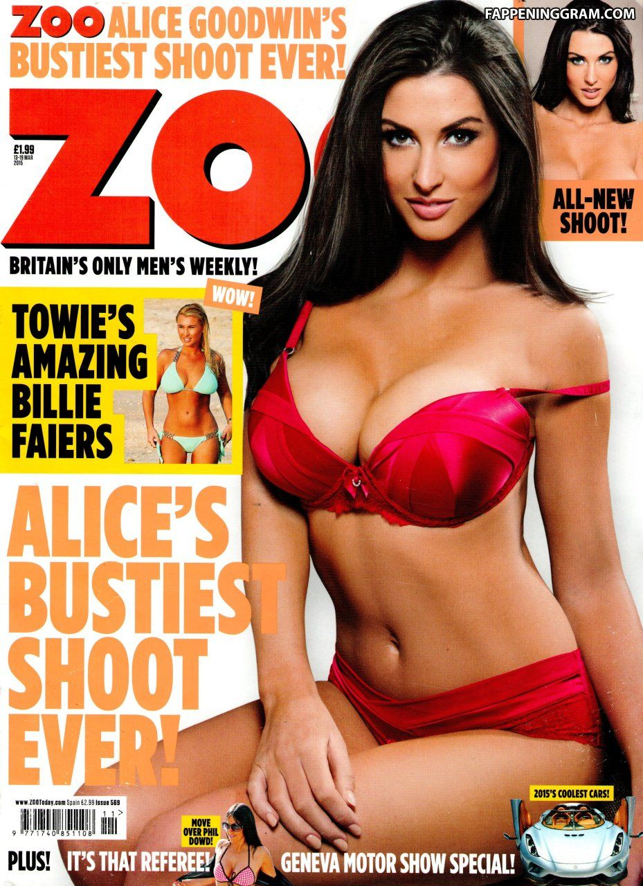 Alice Goodwin Nude