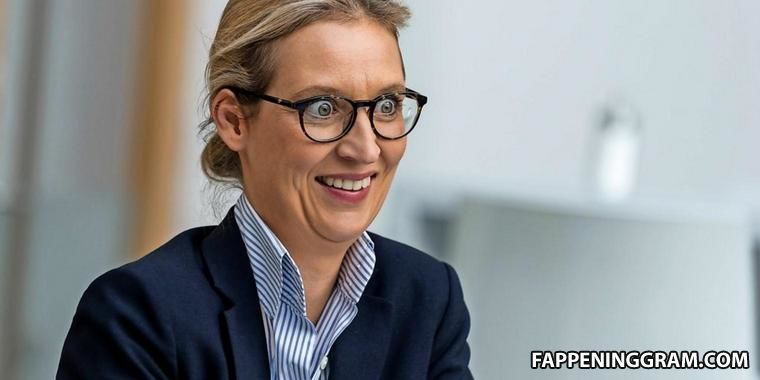Alice Weidel Nude The Fappening - FappeningGram