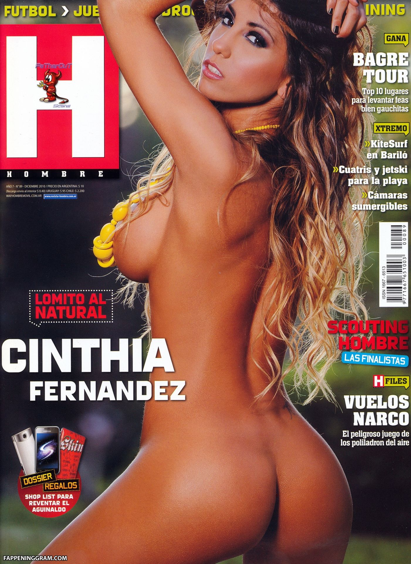 Nude cinthia fernández Cinthia Fernández