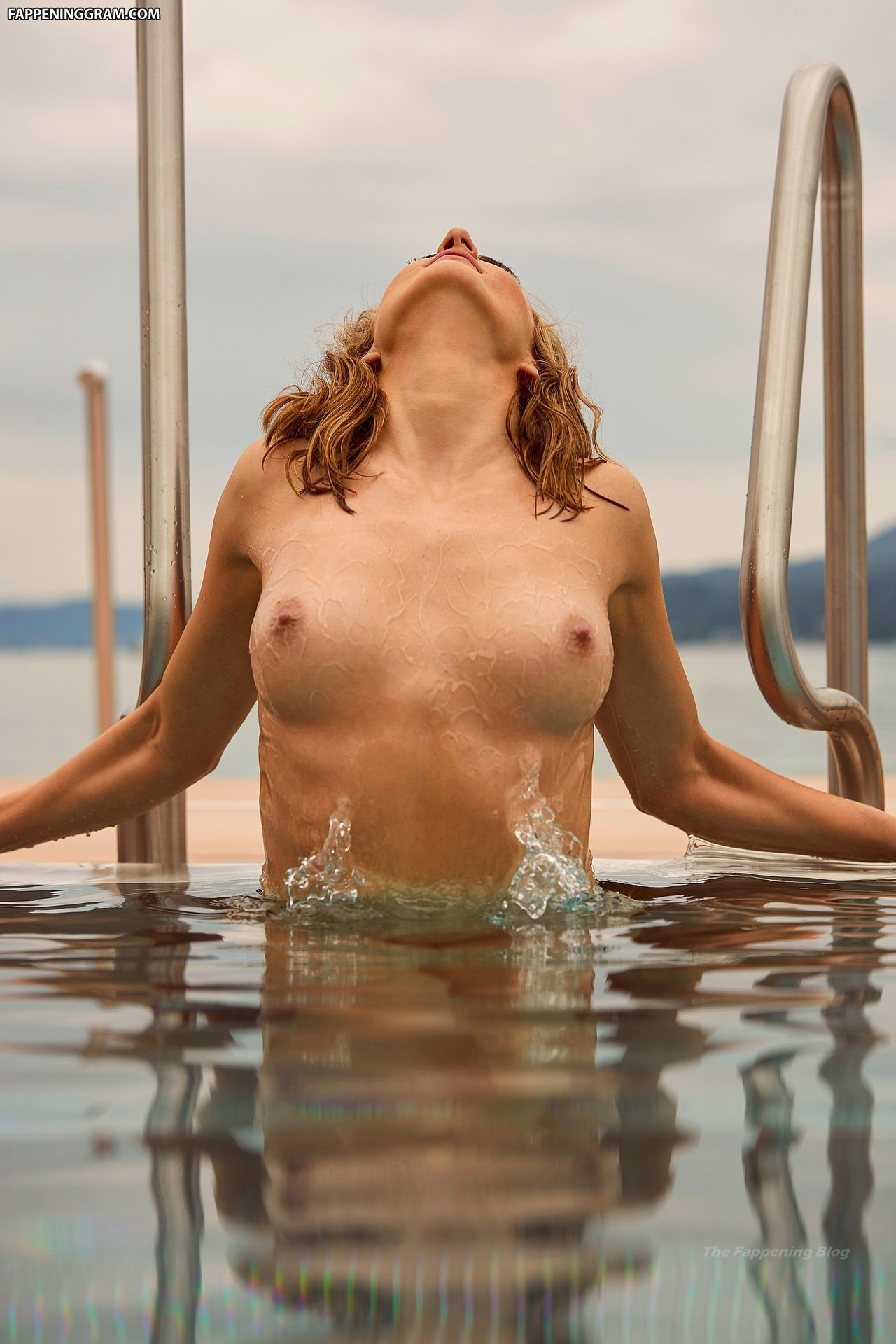 Nude elena Playboy: Swimmer