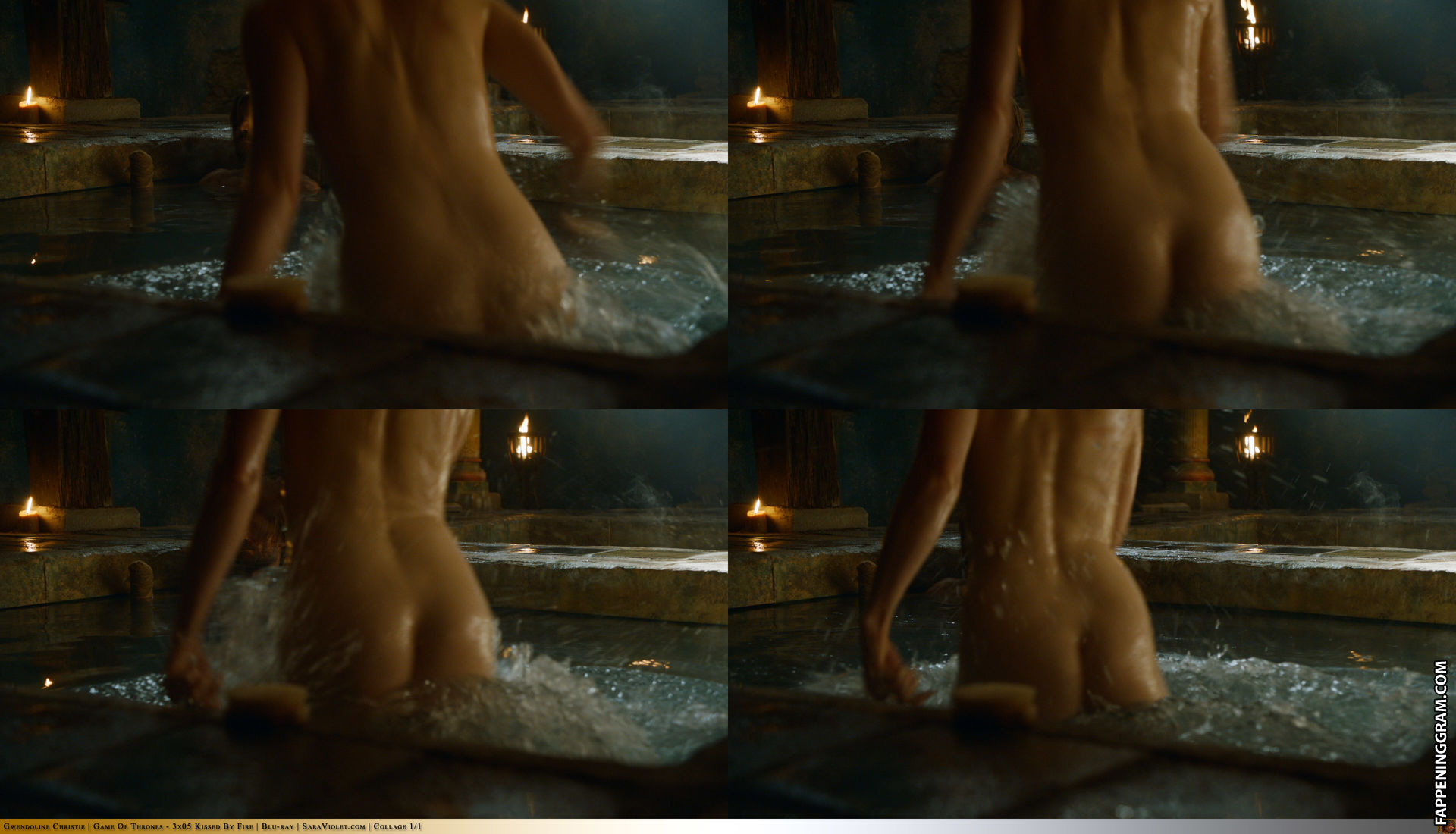 Has christie burke ever been nude