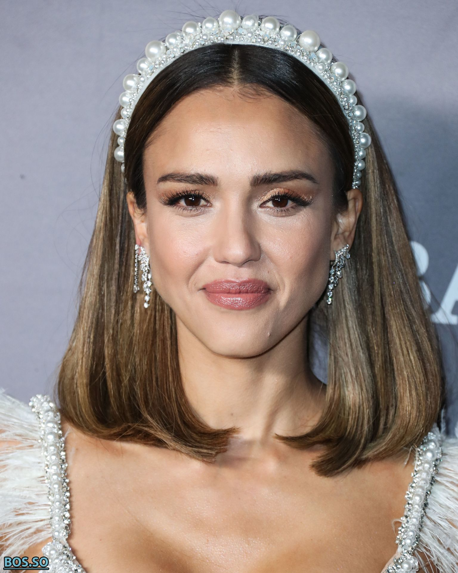 Jessica Alba Nude / Naked in Transparent Dress - The Fappening