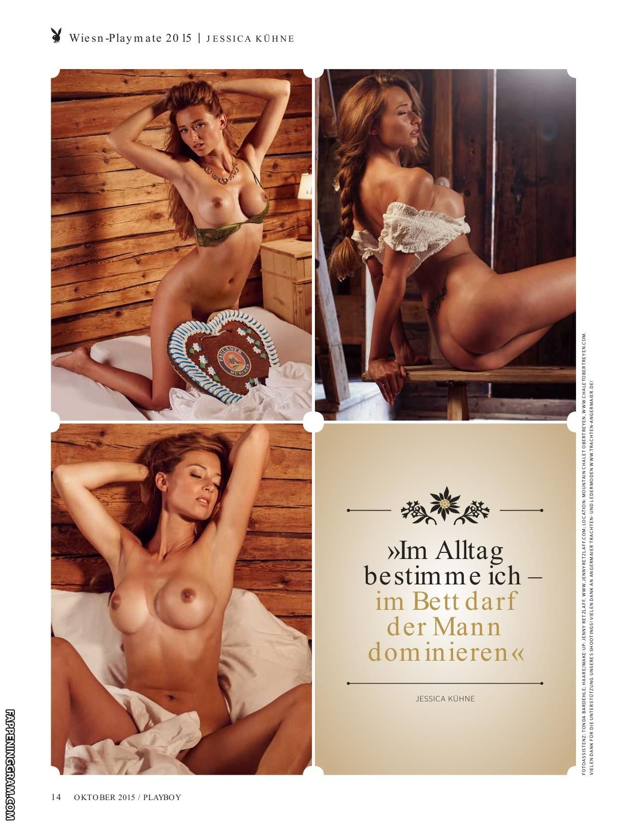 Jessica nackt Kühne Jessica Paszka