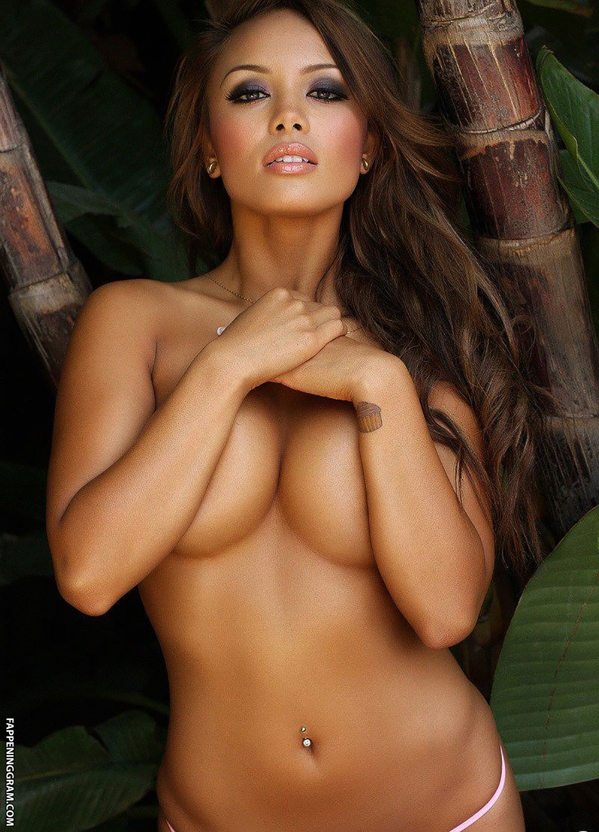 Materials Milf Queen Asian Model Justene Jaro Poses Non Nude In A Tank Top And Black Panties