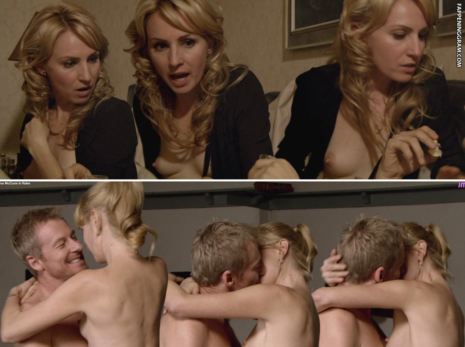 Wild lisa mccune's hot kinky blowjob photo