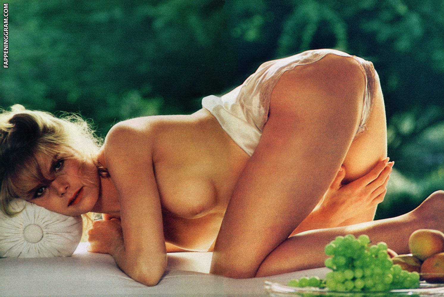 Mariel hemingway naked on bed with another girl