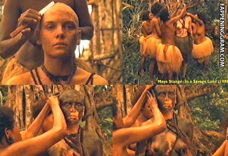Nackt Maya Stange  Maya Stange