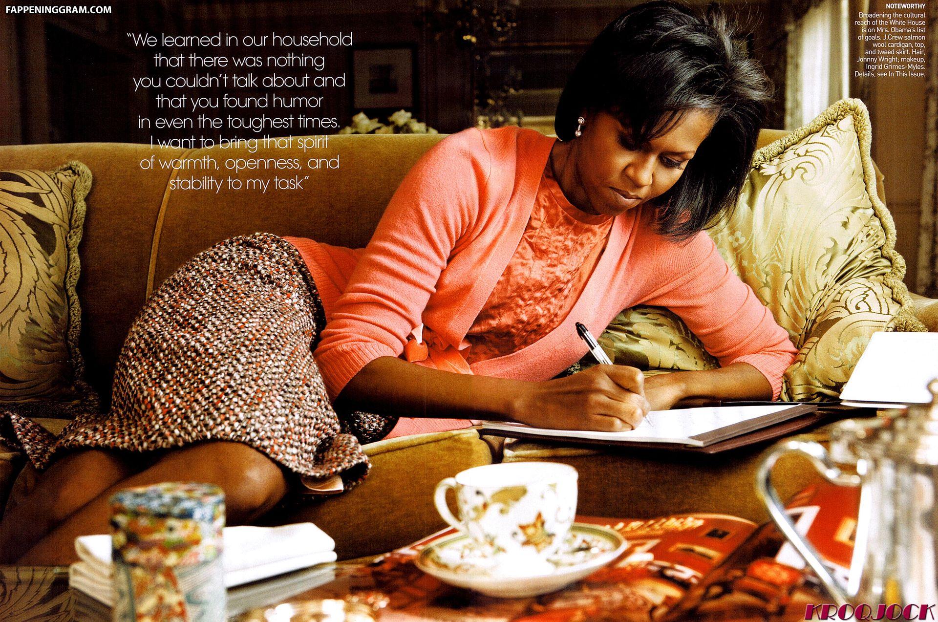 Michelle Obama Nude