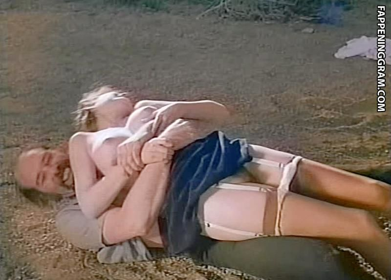 Peggy church breasts, bush scene in the big snatch
