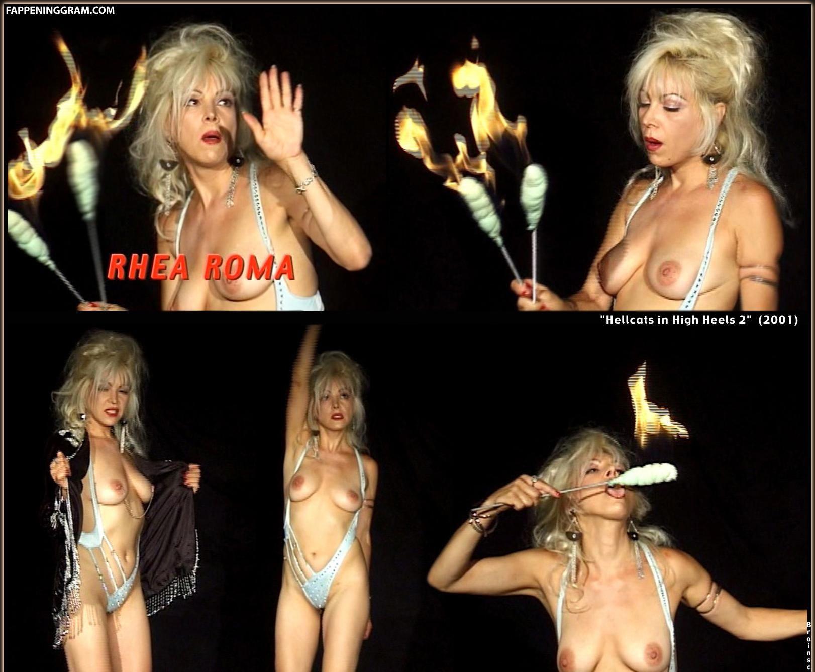 Rhea nackt Roma Rhea Harder