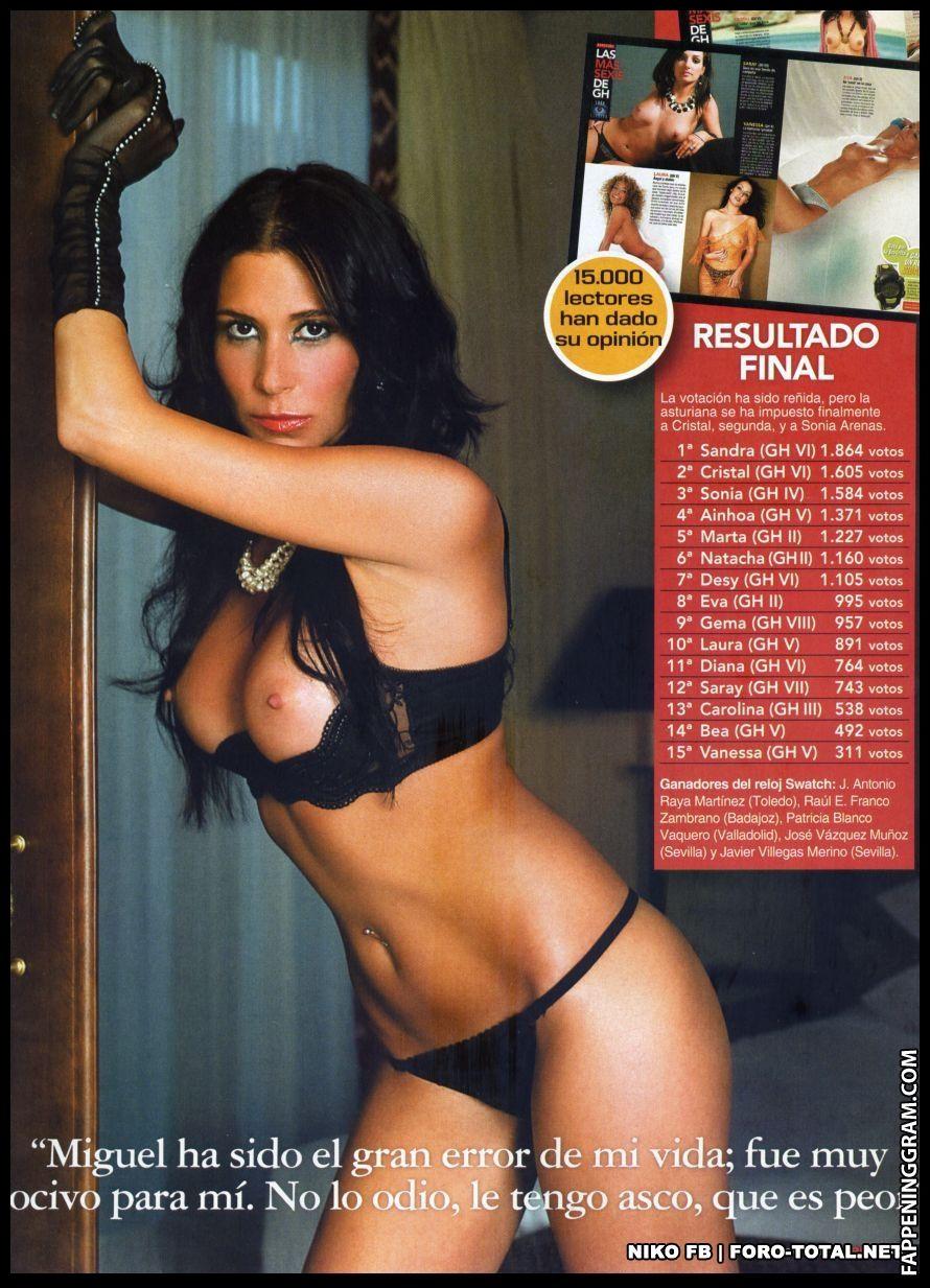 Nackt Sandra Crespo  Justina Miknaite