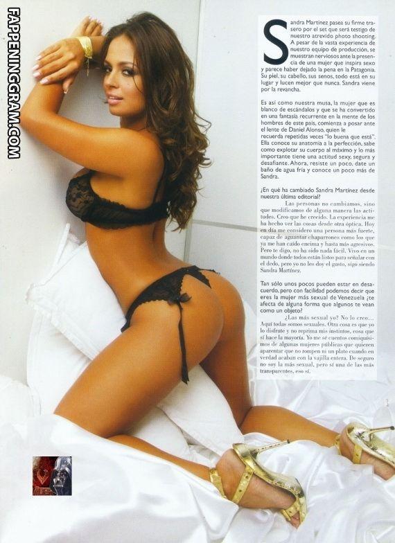 Sandra Martinez  nackt